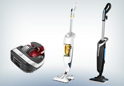 Robotické vysavače a parní čističe Rowenta