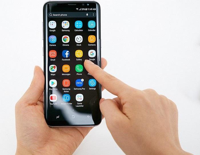 Samsung Galaxy S8 - prostředí