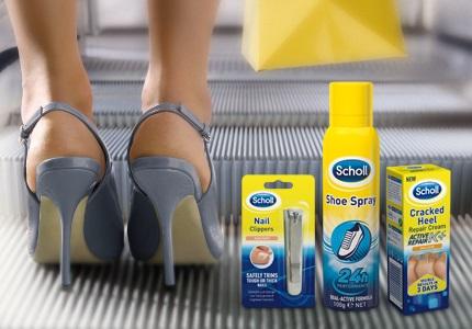 Kosmetika na nohy Scholl