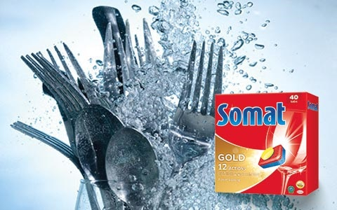 Prípravky do umývačky Somat