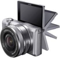 Sony Alpha 5000 selfie camera
