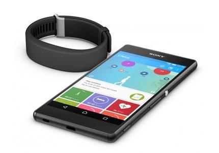 Sony SmartBand fitneszkarkötő