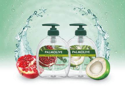 Tekutá mýdla Palmolive