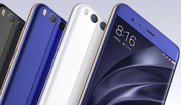 Xiaomi Mi 6, barevné varianty
