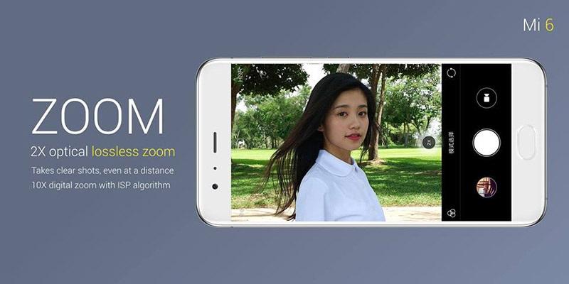 Xiaomi Mi 6, duální kamera