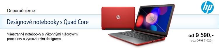 HP notebooky s quad core