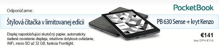 PocketBook Sense 630 + Kenzo cover