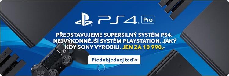 Sony Playstation 4 - 1TB PRO(předobjednávky)
