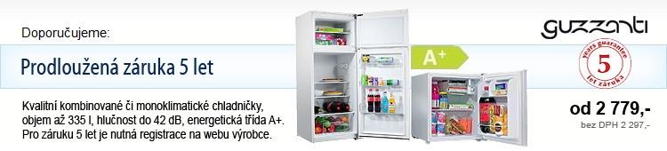 Monoklimatické chladničky Guzzanti