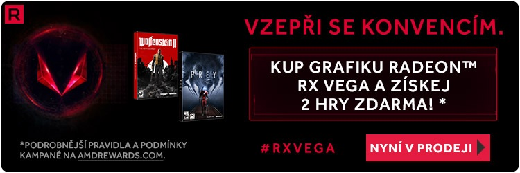 AMD Radeon RX Vega + Prey, Wolfenstein II