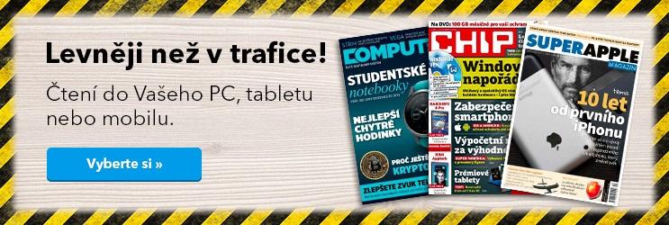 Časopisy o PC a technologiích - levněji než v trafice