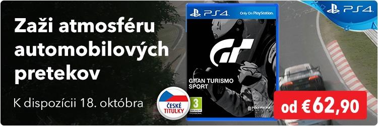 Hra Gran Turismo pro PS4