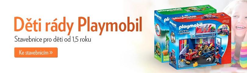 Děti rády Playmobil