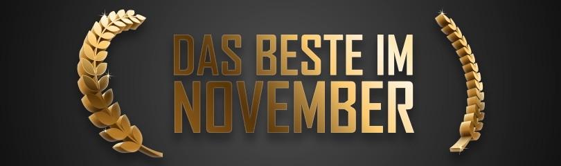 Das Beste im November