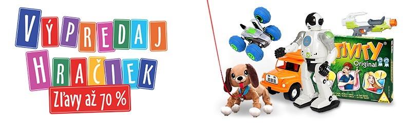 Výpredaj hračiek