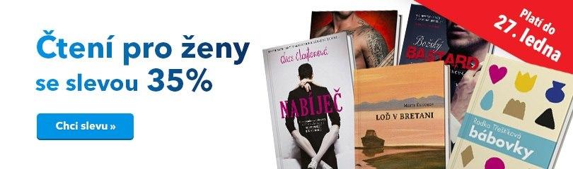 -35 % na romány pro ženy