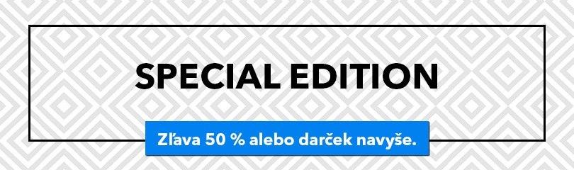 -50 % alebo darček