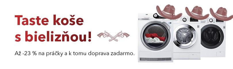 Už žiadne divoké pranie!