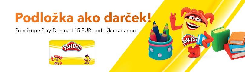 Podložka Play-Doh ako darček