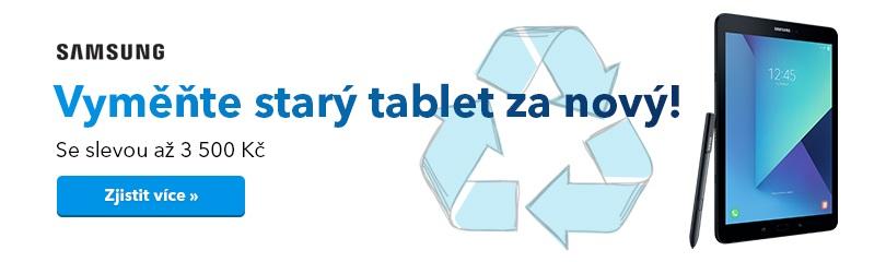 Vyměňte tablet