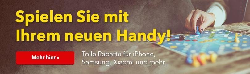 Spielen Sie mit Ihrem neuen Handy!