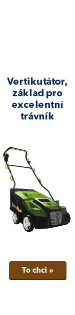 Vertikutátor, základ pro excelentní trávník
