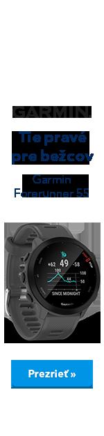 Garmin Forerunner 55 - ucho