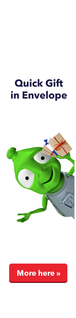Rychlé dárky do obálky - Maxi