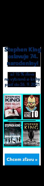 Stephen King oslavuje! E-knihy knihy