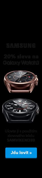Samsung Galaxy Watch3 - 20% sleva - ucho