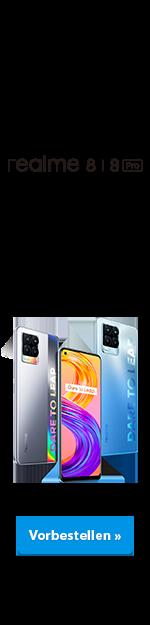 Launch Realme 8 / 8 Pro