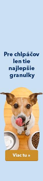 Granule pre psov
