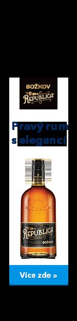Republica - Pravý rum s elegancí