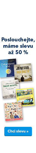 Stovky audioknih v akci kniha AK