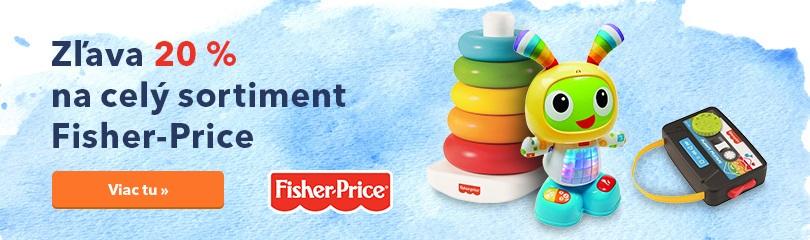 Zľava 20 % na Fisher-Price
