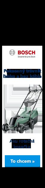 Bosch AKU kosačka