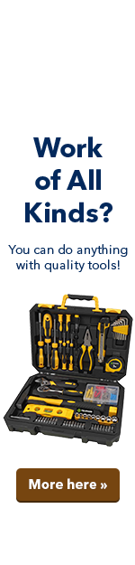 Work of All Kinds? You can do anything with quality tools!