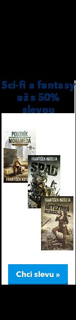 Sci-fi a fantasy 50% EK knihy