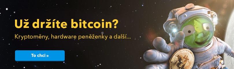Už držíte bitcoin?