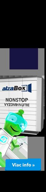 AlzaBoxy jedou nonstop!