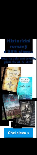Historické romány 35% sleva