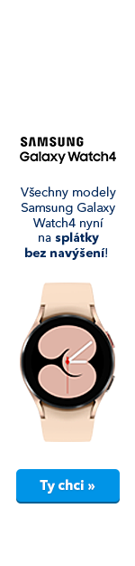 Samsung Galaxy Watch4 - splátky bez navýšení (ucho)