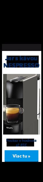Jar s kávou Nespresso