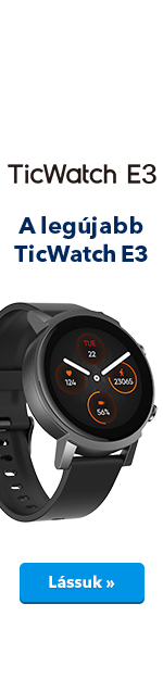 TicWatch E3 Panther Black - ucho