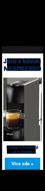Jaro s kávou Nespresso