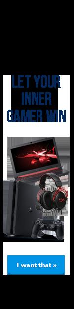 Let your inner gamer win