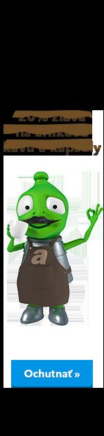 20% sleva na zrnkovou kávu a kapsle