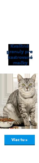Pro Kastrované kočky
