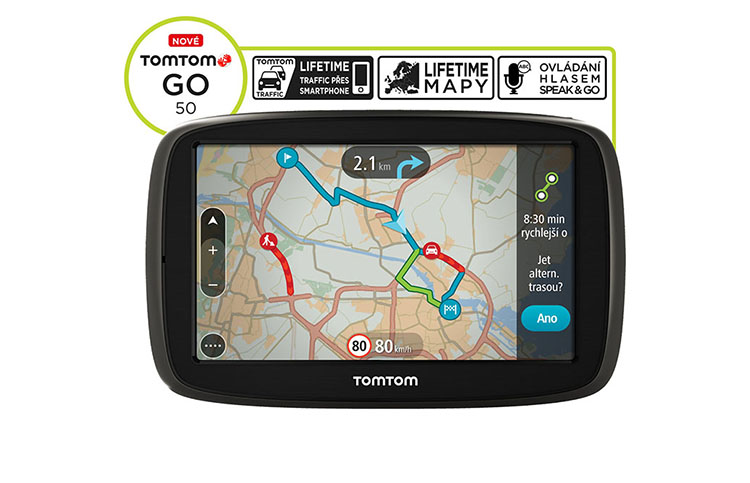 tomtom go 50 lifetime europa karten gps navi. Black Bedroom Furniture Sets. Home Design Ideas