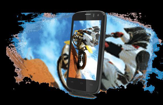 Prestigio MultiPhone 5453 DUO - displej